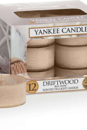 yankee candle-driftwood-12 tea lights-52167