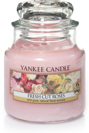 yankee candle-fresh cut roses-small jar-52186