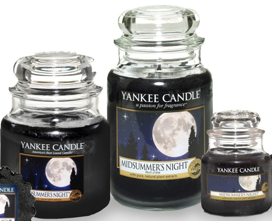 yankee candle-midsummer's night