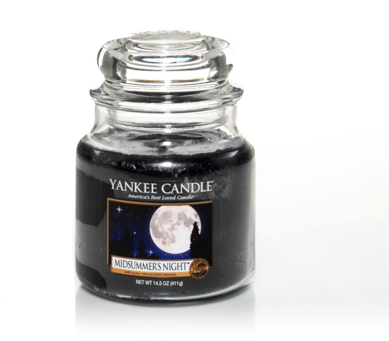yankee candle-midsummer's night-medium jar-52205