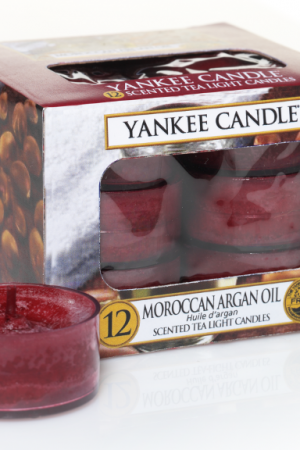 yankee candle-moroccan argan oil-12 tea lights-52175
