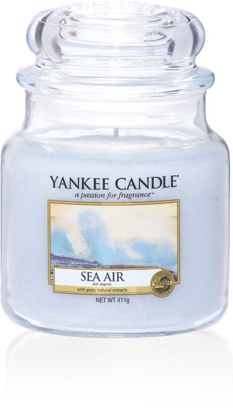 yankee candle-sea air-medium jar-52217