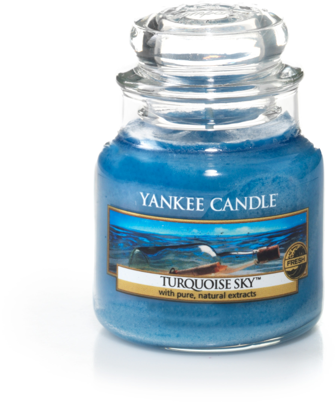 yankee candle-turquoise sky-small jar-52210