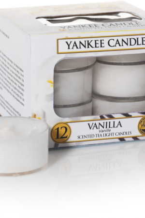 yankee candle-vanilla-12 tea lights-52155