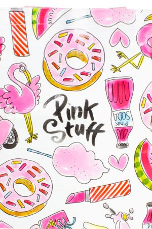 Blond Amsterdam shopper Pink Stuff 200910