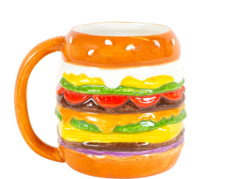 Blond Amsterdam Snack 3D beker Hamburger