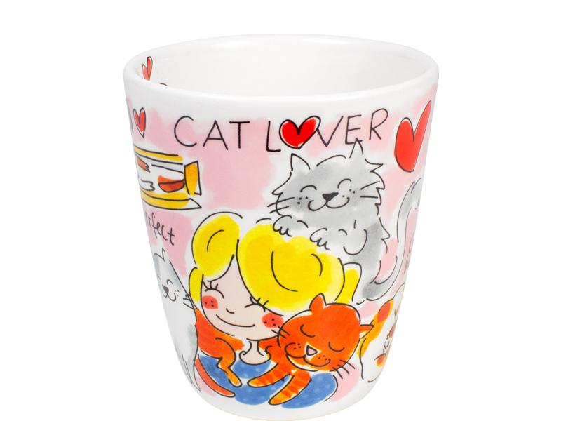 200918 Blond Amsterdam Cat lover beker
