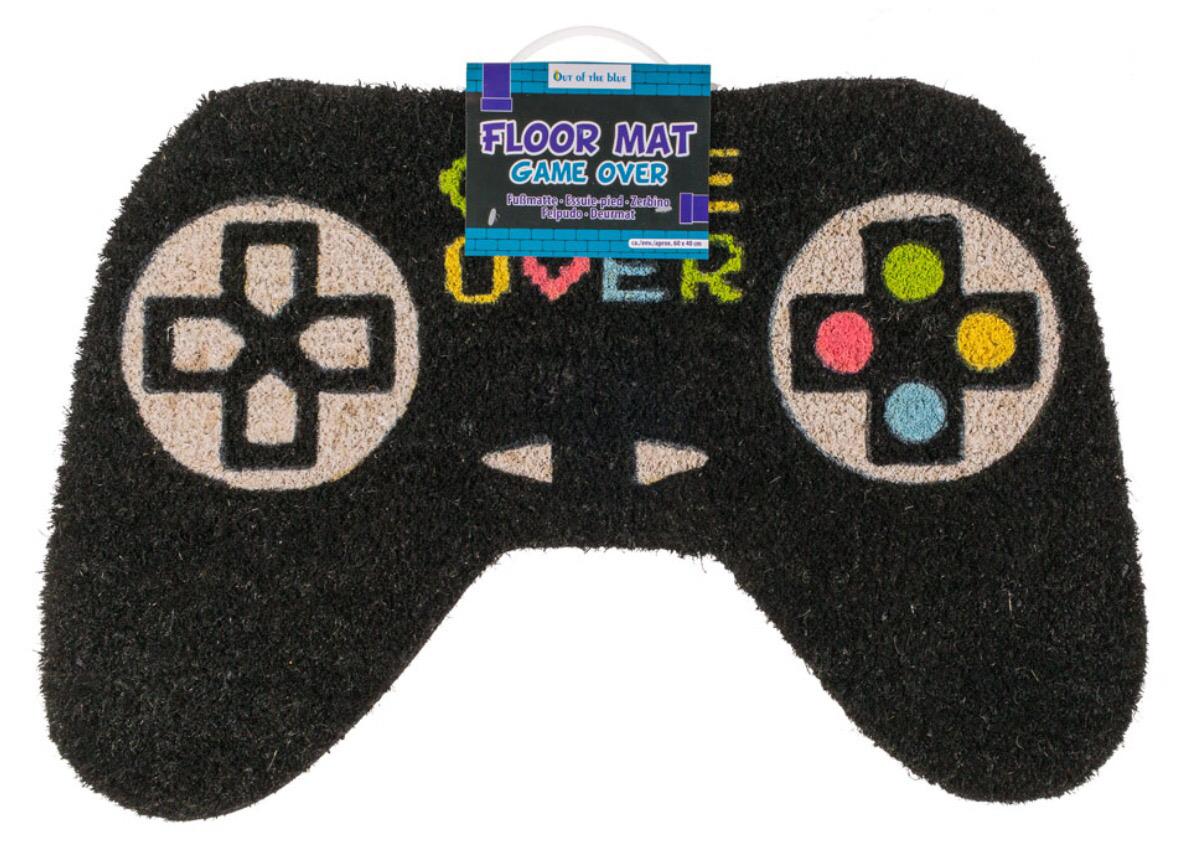 Vloermat game over joystick