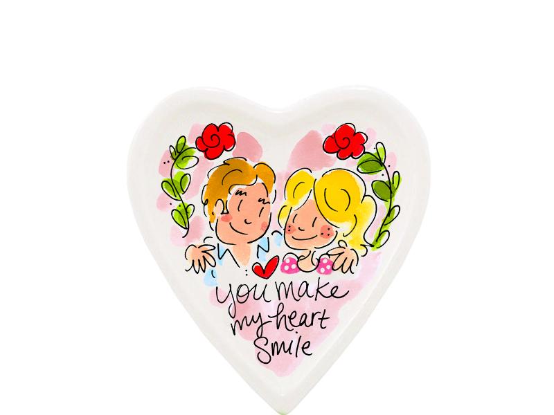 Blond Amsterdam Valentijn 2020 petit four smile heart