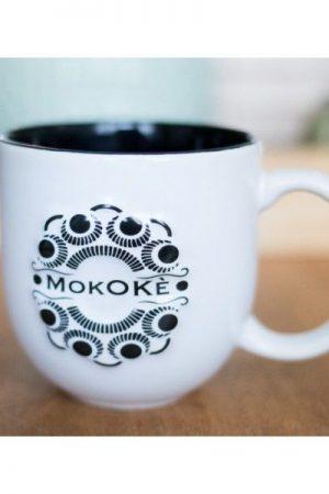 Mokokè beker Zwarte binnenzijde