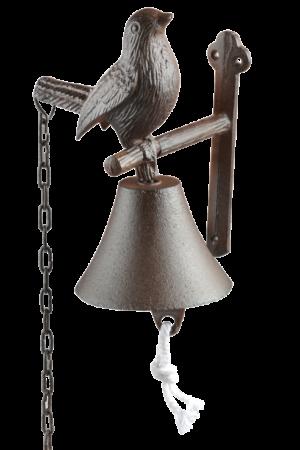 Deurbel vogel gietijzer