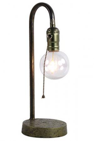 Tafellamp LED timer Kilian grijs