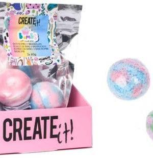 Create it! Bruisbal set van 3 stuks - multicolour