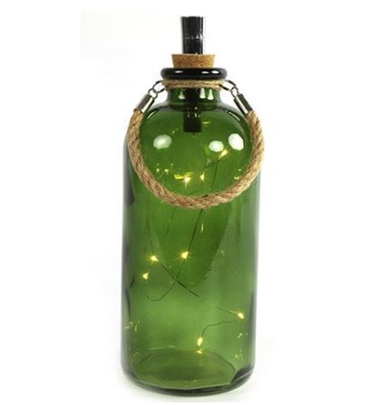 Lamp LED Collin groen