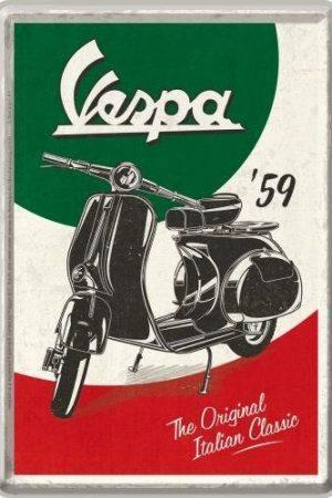 METAL-CARD-VESPA